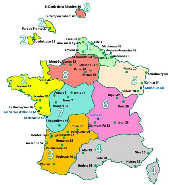 Nouvelle Carte Des Regions 2020-04-14 - Club Agora France destiné Nouvelle Carte Des Régions De France