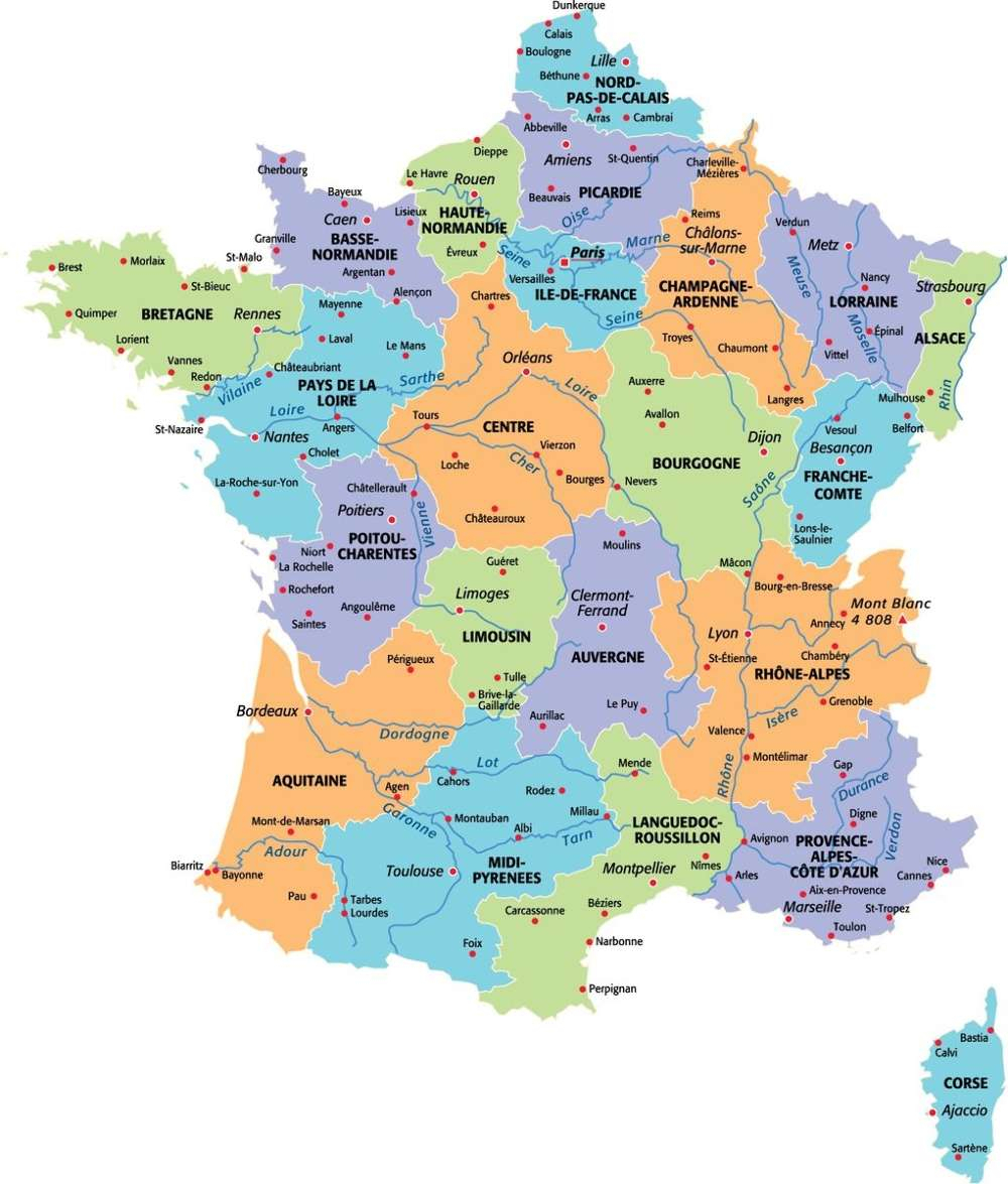 Nouvelles Régions D'Ici 2017 : Quelle Sera La Nouvelle serapportantà Nouvelles Régions De France