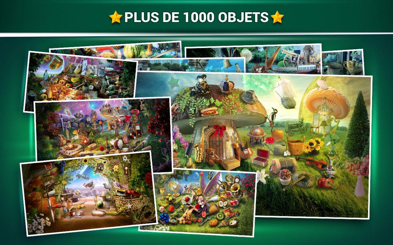 Objets Cachés Fantaisie - Jeux Midva Gratuits En Français intérieur Jeux Trouver Objet