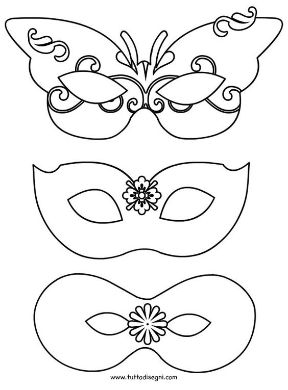 Occuper Vos Enfants - Page 2 En 2020 | Masque Carnaval avec Masque Carnaval Maternelle À Imprimer