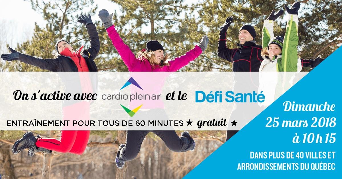 On S'Active Avec Cardio Plein Air Et Le Défi Santé pour Défi Mots Entrainement