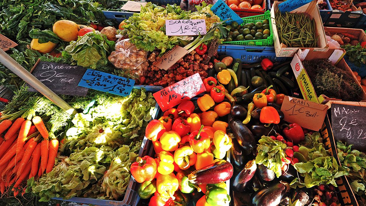 Où Achetez-Vous Vos Fruits Et Légumes? encequiconcerne Legume Ou Fruit En J
