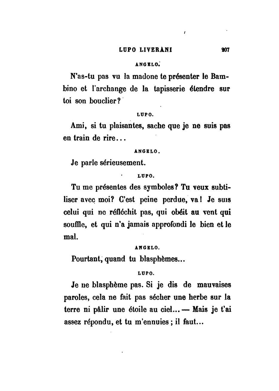 Page:sand - La Coupe, Lupo Liverani, Garnier, Le dedans L As Tu Vu Paroles