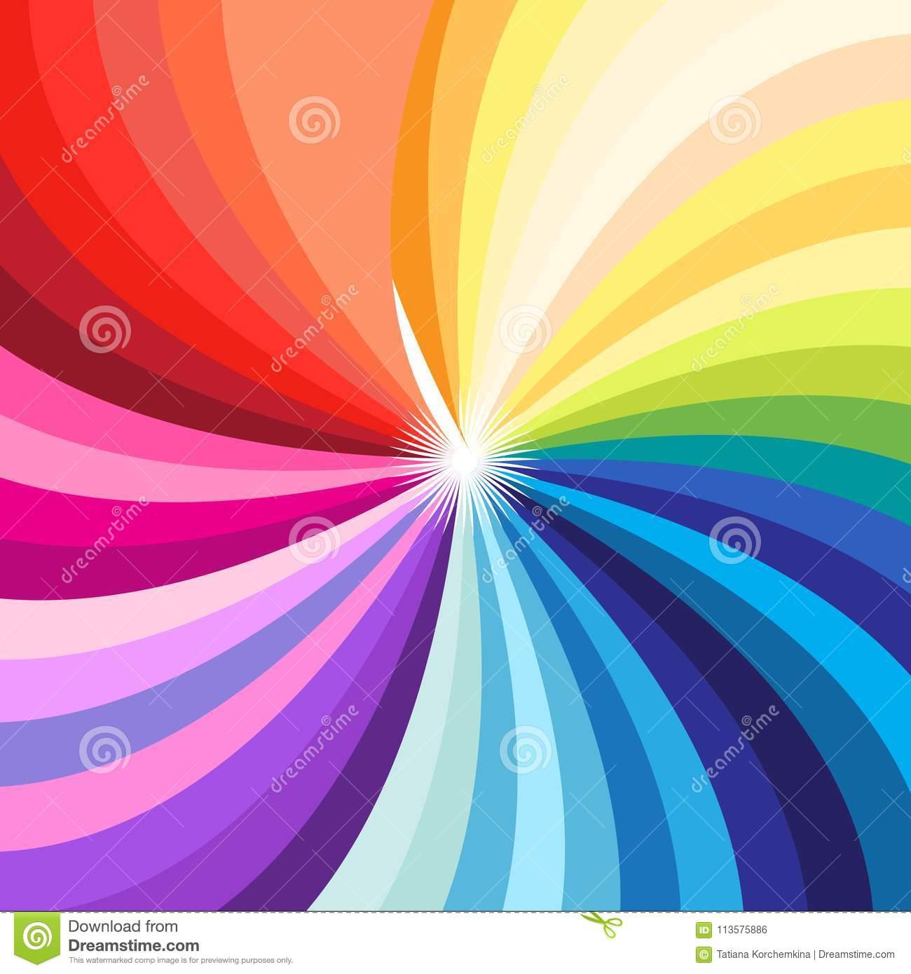 Paleta Colorido Brilhante Do Vetor De Todas As Cores concernant De Toutes Les Couleurs