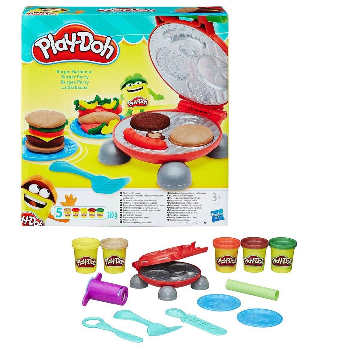 Pâte À Modeler Burger Party - Jeux Créatifs - La Grande Récré concernant Jeux De Pate À Modeler Gratuit