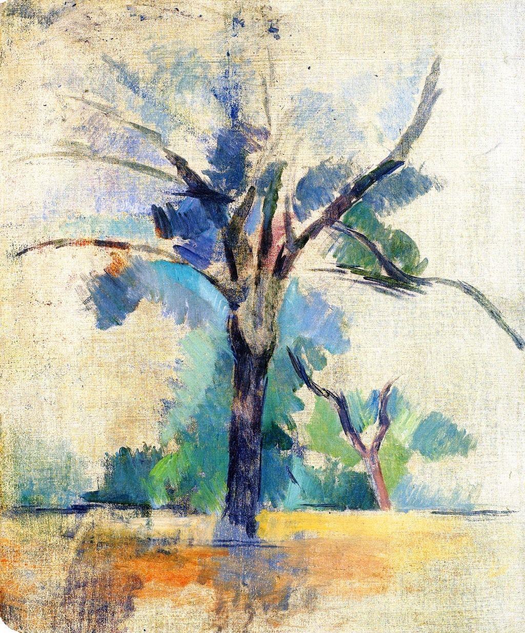 Paul Cezanne - Trees | Art, Paul Cezanne, Painting pour Paul Cezanne Oeuvres