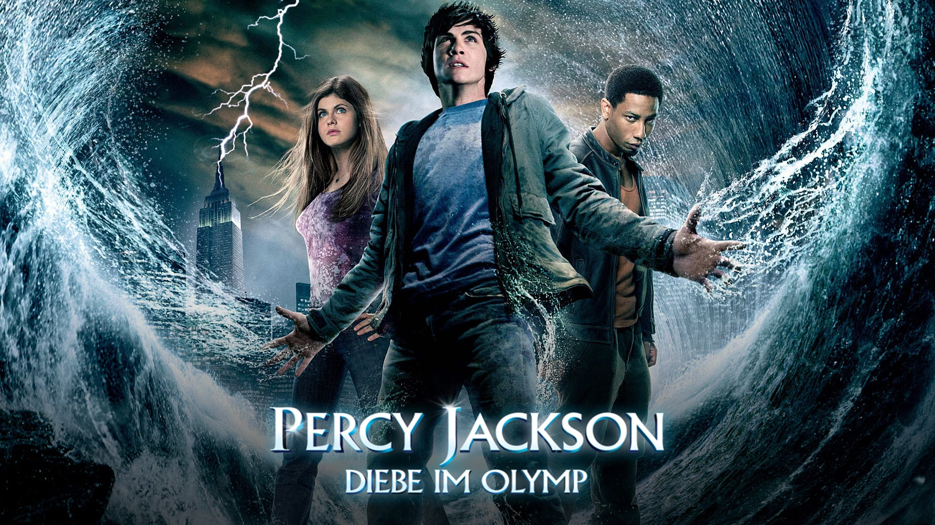 Percy Jackson, Le Voleur De Foudre - Movie - Zone destiné Percy Jackson Et Le Voleur De Foudre