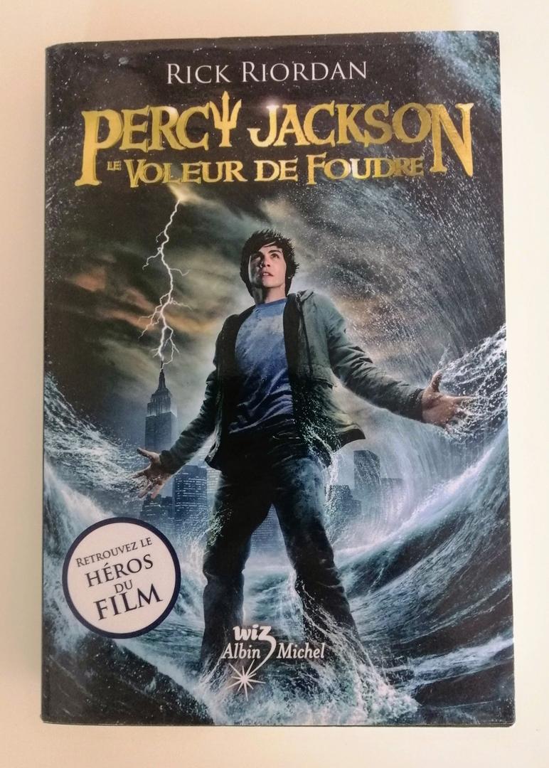 Percy Jackson:le Voleur De Foudre (Rick Riordan) - Little encequiconcerne Percy Jackson Et Le Voleur De Foudre