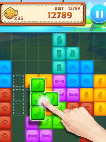 Pet Block Puzzle: Puzzle Mania Pour Android À Télécharger concernant Puzzle Gratuit A Telecharger Pour Tablette