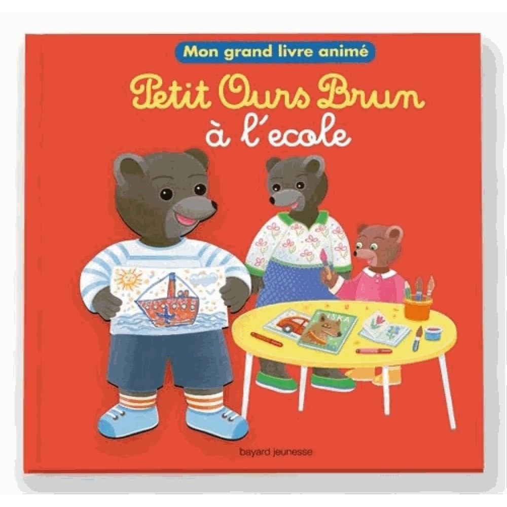 Petit Ours Brun À L'École - Histoires - Livres 4-7 Ans à Histoire De Petit Ours Brun