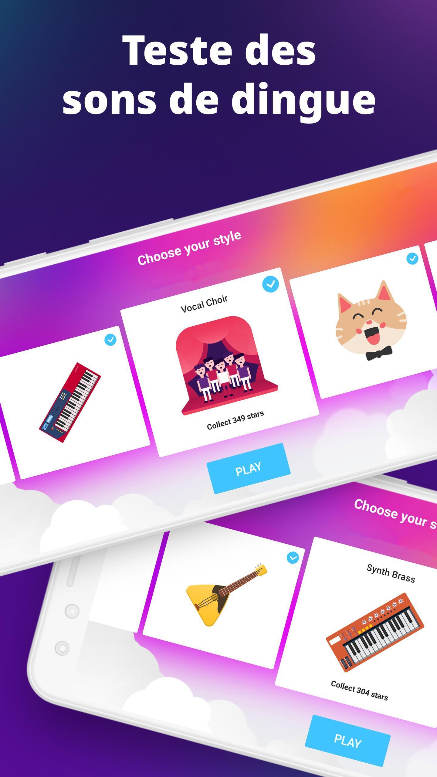 Piano - Jeux De Musique Pour Android - Téléchargez L'Apk pour Jeux De Chansons Gratuit