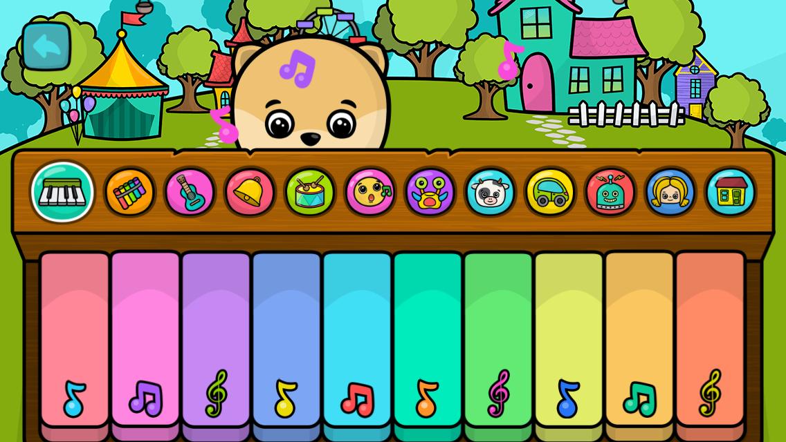 Piano & Jeux Pour Bébé Et Enfant - Pc Astuces avec Jeux Gratuit Pour Bebe