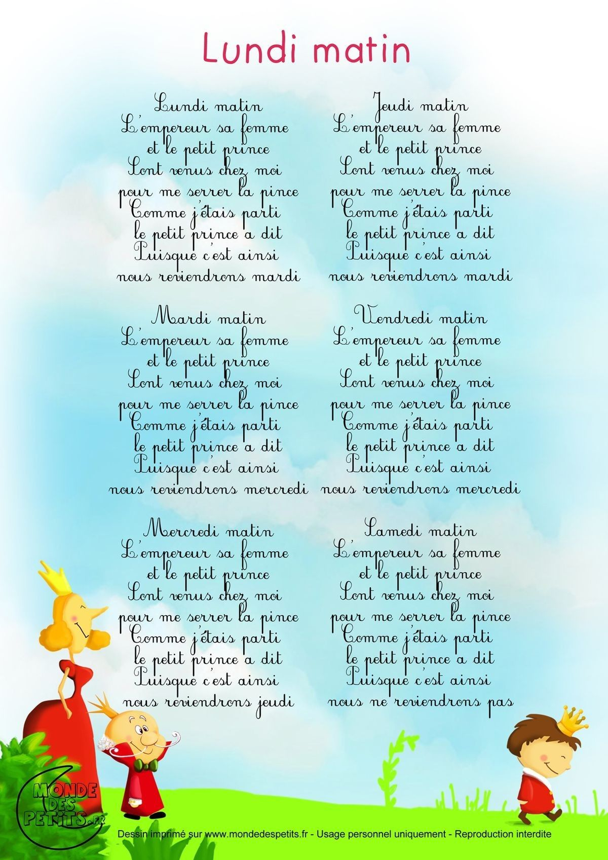 Pin By Christine On Chansons Enfant   French Language pour Parole Petit Homme