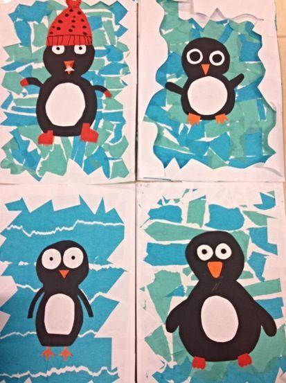 Pin By Manon Emma On Education | Winter Art, Winter Crafts à Plouk Maternelle