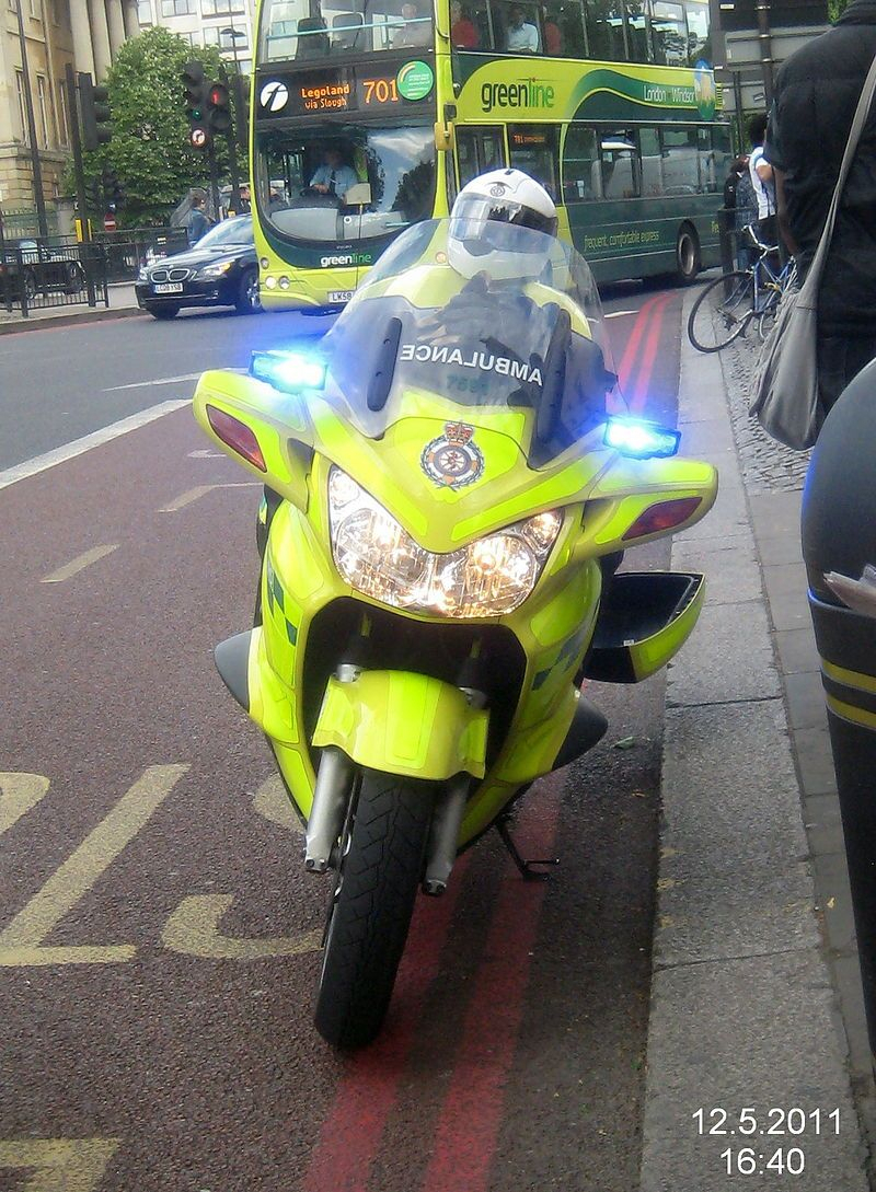 Pin On First Responder Motorbike intérieur Moto Ambulance