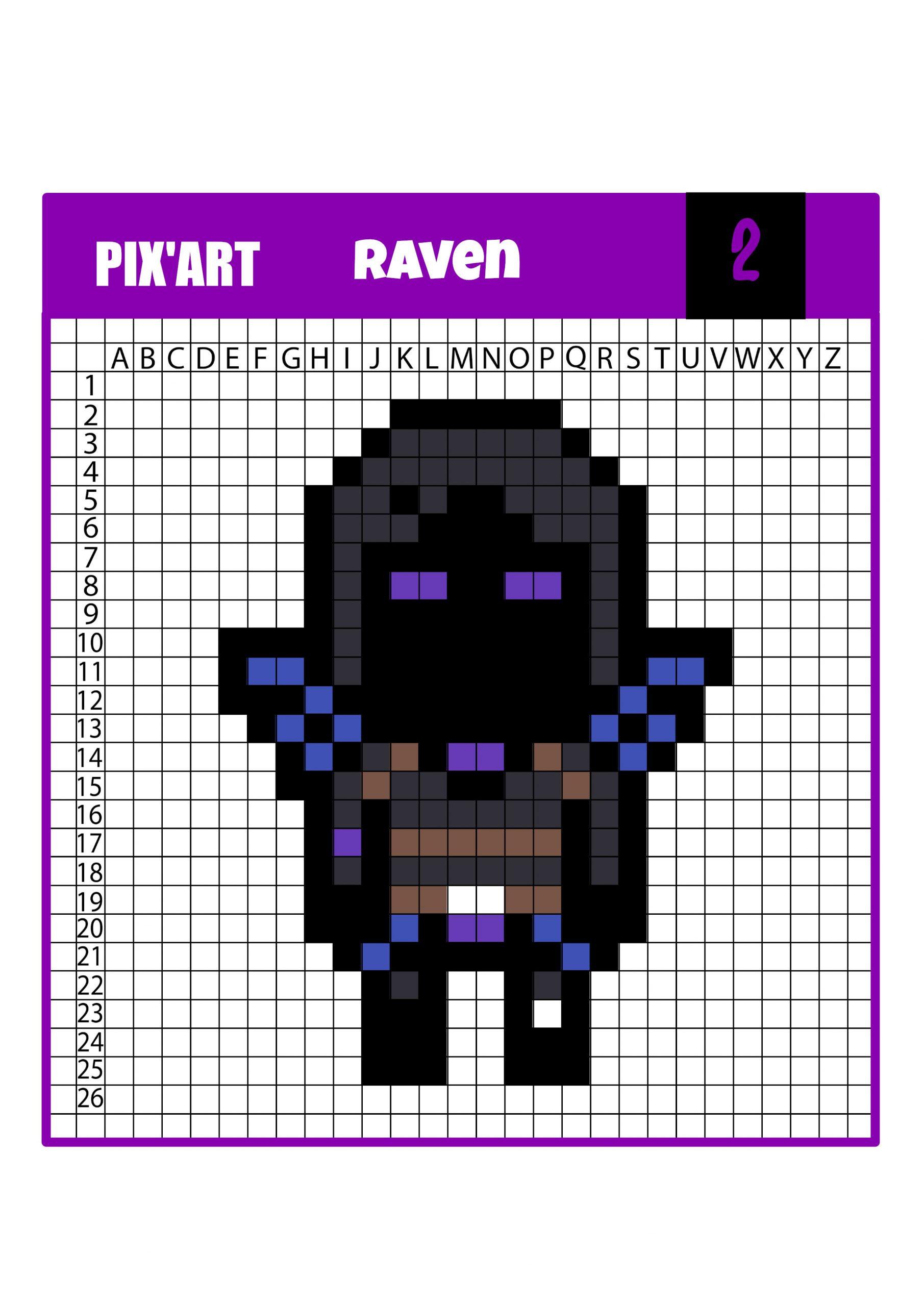 Pixel Art Fortnite : Retrouve Tes Personnages Préférés serapportantà Jeux Dessin Pixel