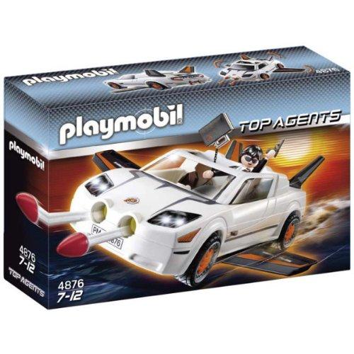 Playmobil - 4876 - Jeu De Construction - Voiture Des intérieur Jeux De Construction De Voiture