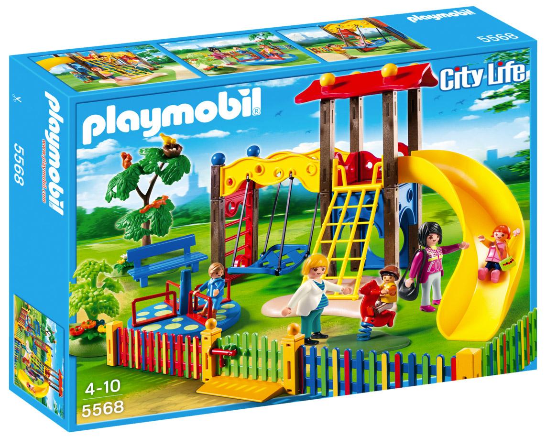Playmobil City Life 5568 Pas Cher - Square Pour Enfants intérieur Jeux Pour Bébé En Ligne