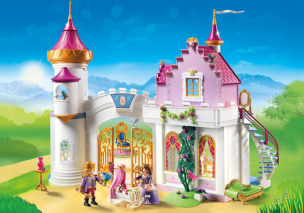 Playmobil Set: 6849 - Princess Palace - Klickypedia pour Image De Chateau De Princesse