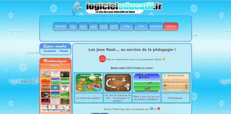 Plein De Jeux Pédagogiques En Ligne - Ressources Pour S concernant Jeux Pédagogiques En Ligne