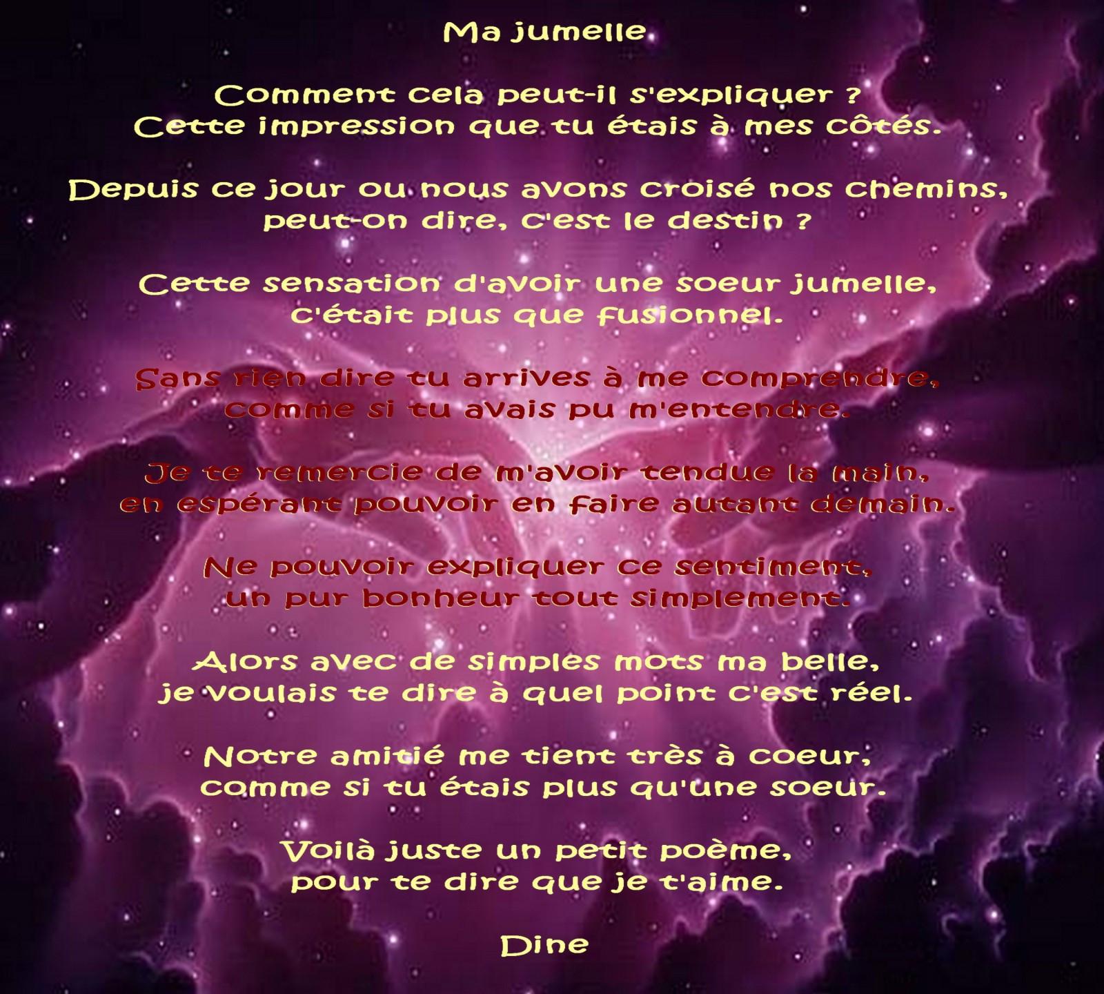 Poeme D'Anniversaire A Ma Grande Soeur New Poeme D concernant Poeme Pour Ma Mere