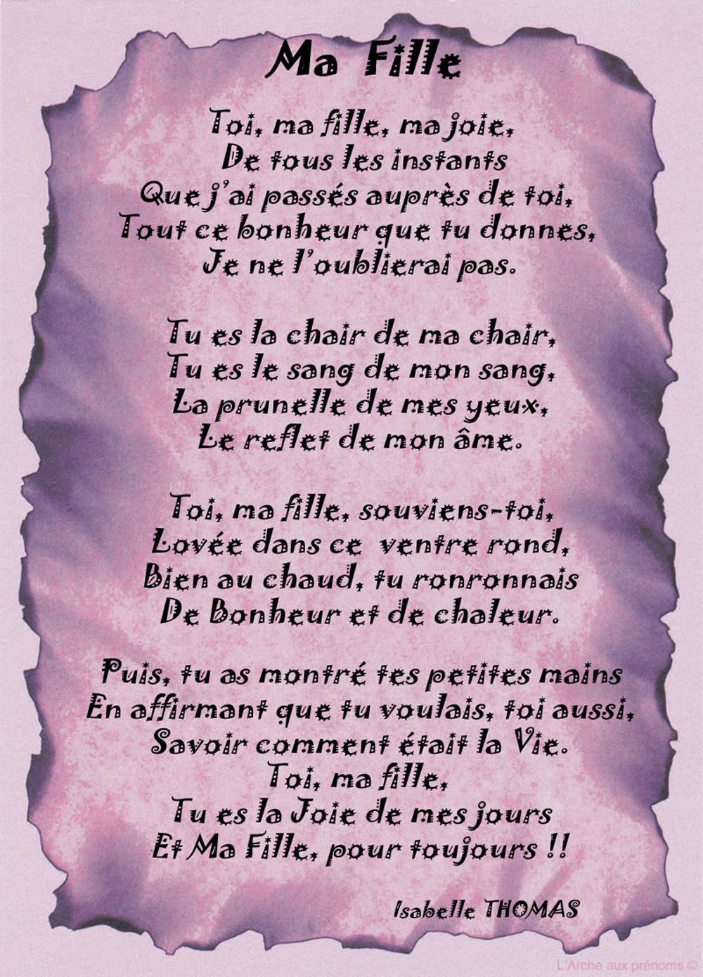 Poeme D'Anniversaire Pour Ma Fille Best Of Un Poème Pour intérieur Poeme Pour Ma Mere