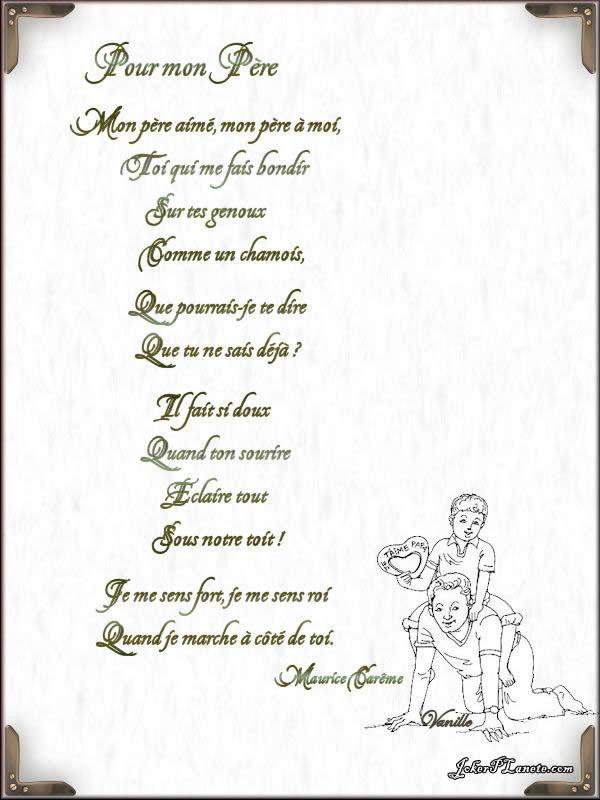 Poeme D'Anniversaire Pour Son Beau Pere New Mon Beau Pere à Poeme Anniversaire Grand Pere