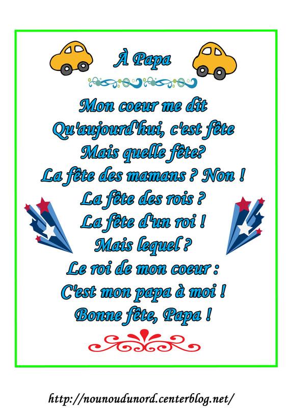 Poeme Fete Des Peres tout Poeme Anniversaire Grand Pere
