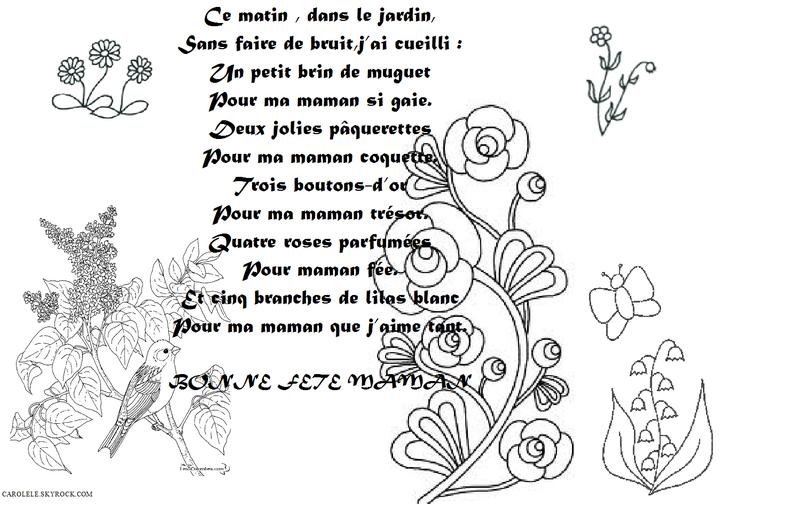 Poeme - Je M'Amuse Avec Nounou/Maman serapportantà Petit Poeme Pour Nounou