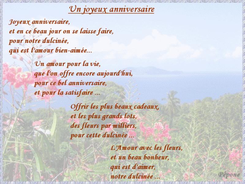 Poeme Joyeux Anniversaire Papa avec Texte Gentil