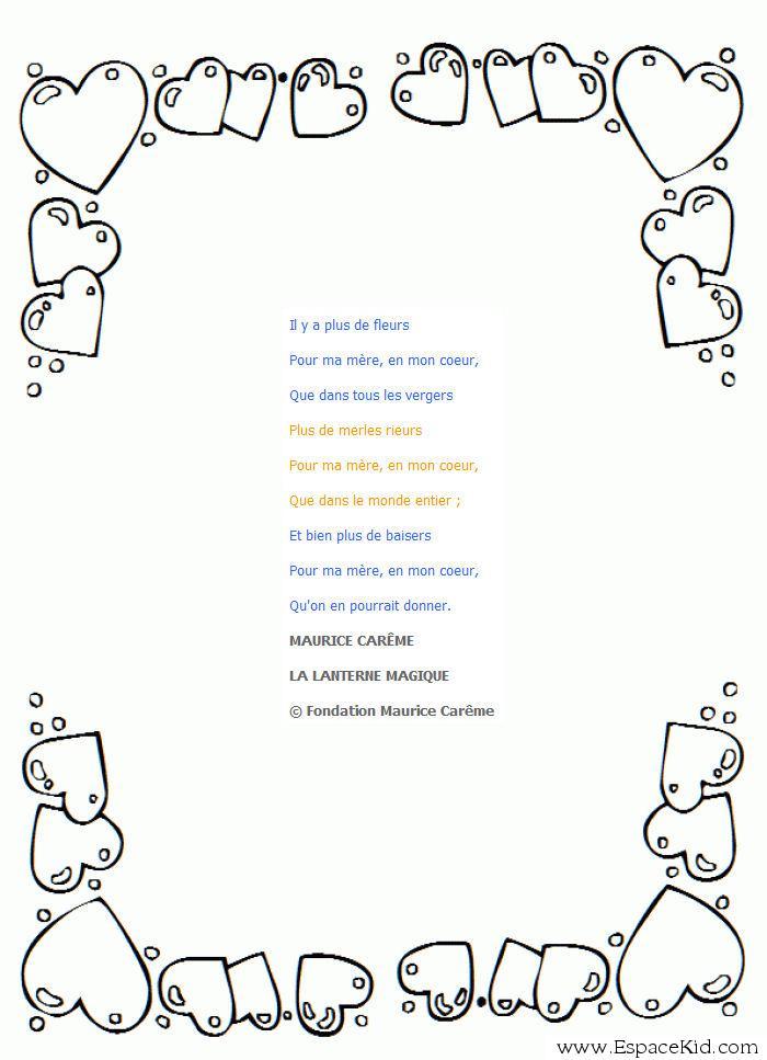 Poeme Pour Fete Des Meres Triste pour Poeme Pour Fete Des Mere