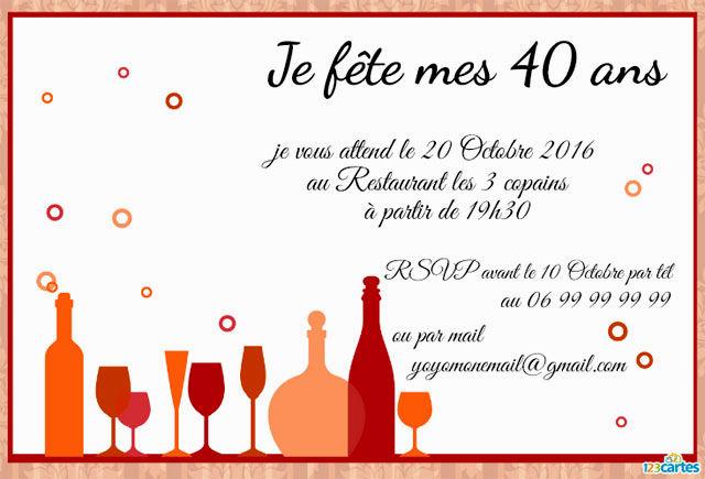 Poeme Pour Invitation D Anniversaire - Modele De Lettre Type concernant Texte D Invitation Anniversaire Adulte
