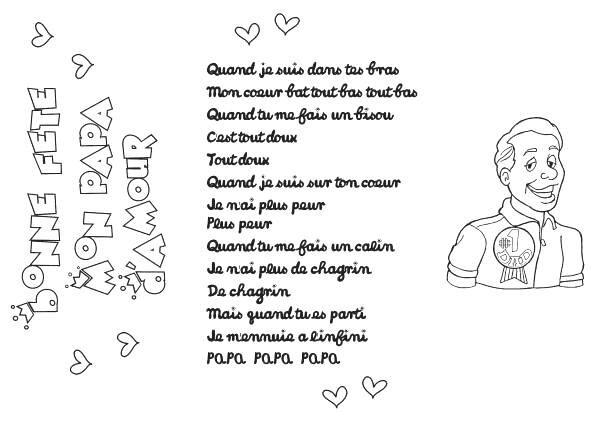 Poèmes Fêtes Des Pères - Assistante Maternelle Argenteuil intérieur Poème Fête Des Pères Maternelle
