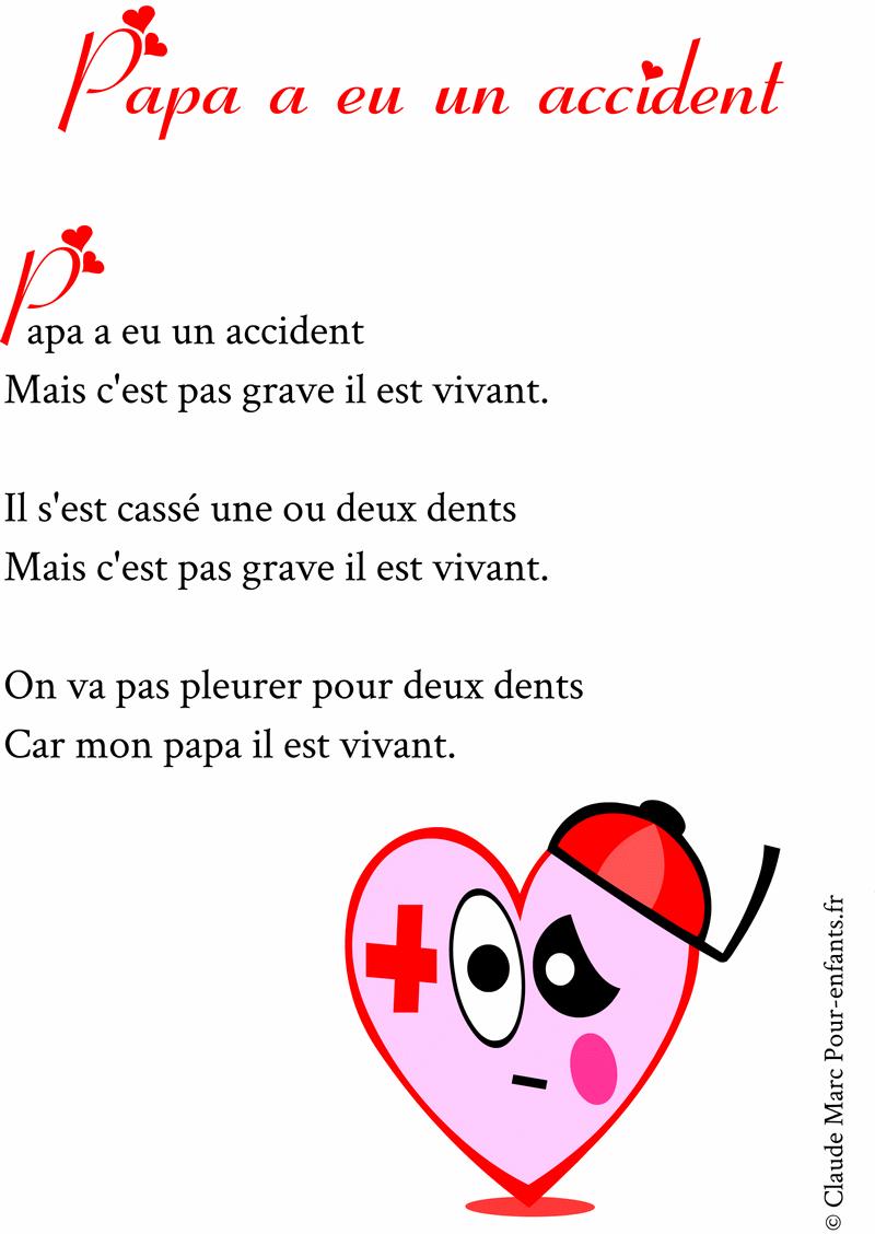 Poèmes Pour Papa À Imprimer Poemes Fete Des Papas Marrant à Poeme Pour Papa De Coeur