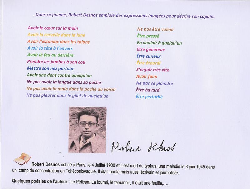 Poesie C'Etait Un Bon Copain avec Le Tamanoir Poésie