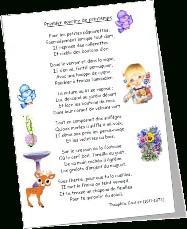Poésie   Paquerette, Poesie, Printemps dedans Poésie Printemps