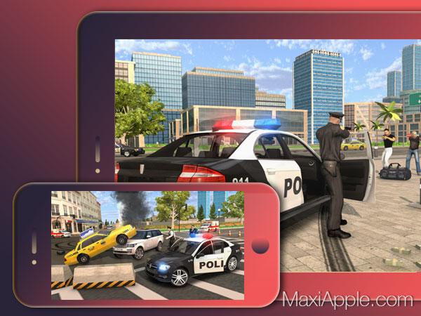 Police Car Chase Iphone Ipad - Jeu De Course Poursuite En intérieur Jeu De Voiture De Police Gratuit