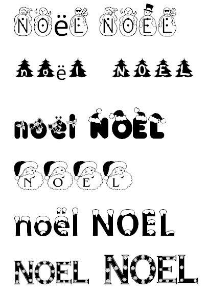 Polices D'Écritures Gratuites De Noël ! | Theme Noel, Noel destiné Police Ecriture Noel