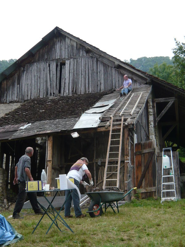 Premiere Etape: Vider La Grange - La Grange De Miribel encequiconcerne Vider Ma Maison
