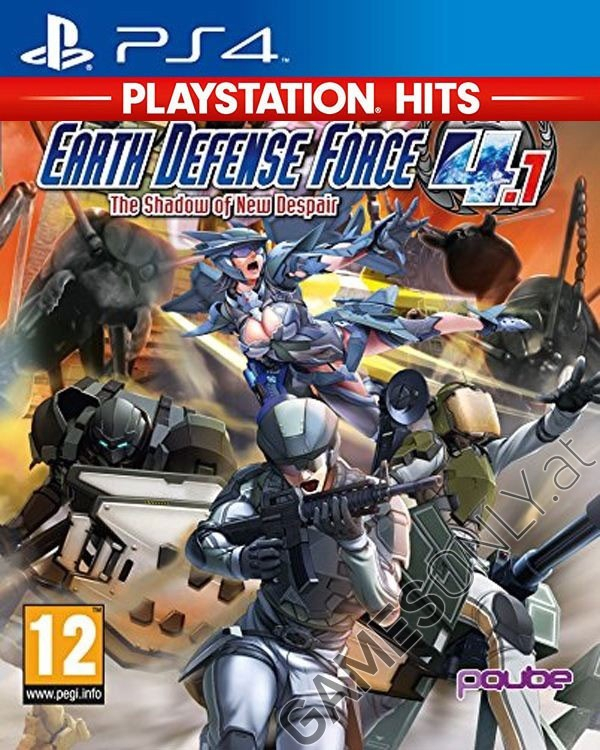 Ps4 - Earth Defense Force 4.1: The Shadow Of New Despair avec Jeu Force 4