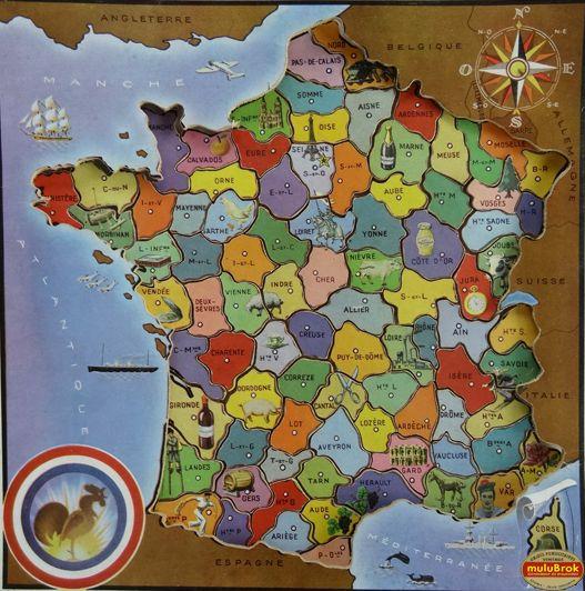 Puzzle Carte De France En Ligne   My Blog serapportantà Jeux Gratuits Departements Français