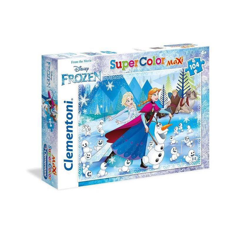 Puzzle La Reine Des Neiges 104 Piéces tout Jeux Puzzle La Reine Des Neiges
