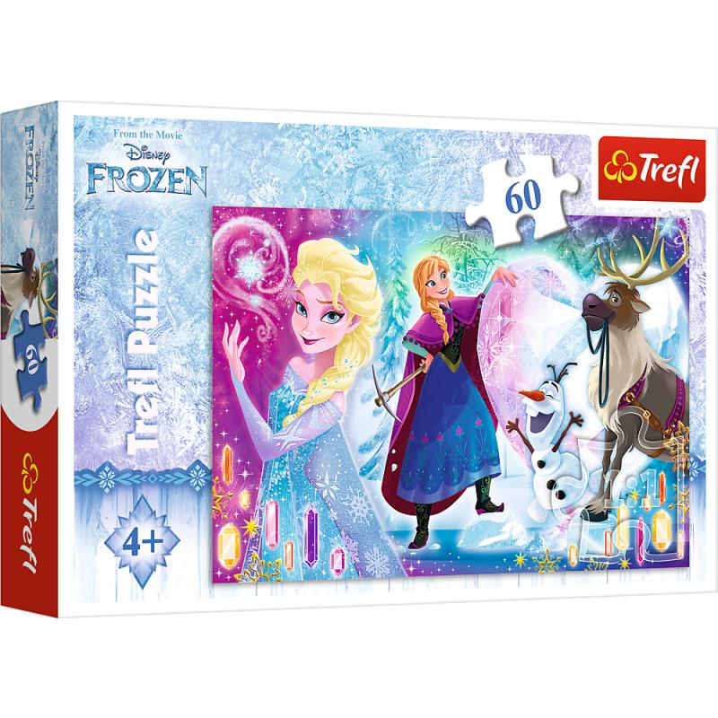 Puzzle La Reine Des Neiges - 60 Pièces - A La Porte Bleue encequiconcerne Jeux Puzzle La Reine Des Neiges