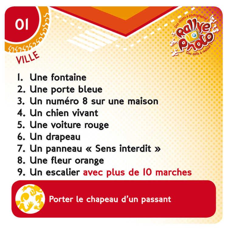 Rallye Photo: Jeu De Société Chez Jeux De Nim serapportantà Exemple De Jeux
