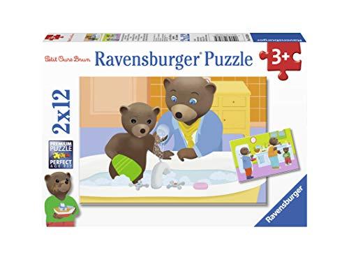 Ravensburger- 2 12 Pièces La Famille, Puzzle, Casse Tete intérieur Petit Jeux 3 5 Ans