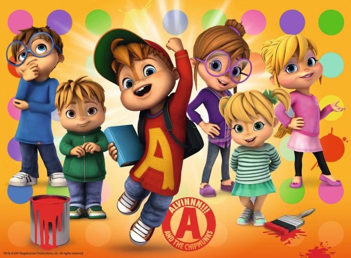 Ravensburger Puzzle Alvin Und Die Chipmunks Alvin Und dedans Dessin Animé Alvin Et Les Chipmunks