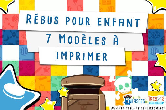 Rébus Enfant - 7 Modèles À Imprimer Plus Le Générateur À Rébus concernant Jeux A Imprimer Pour 10 Ans