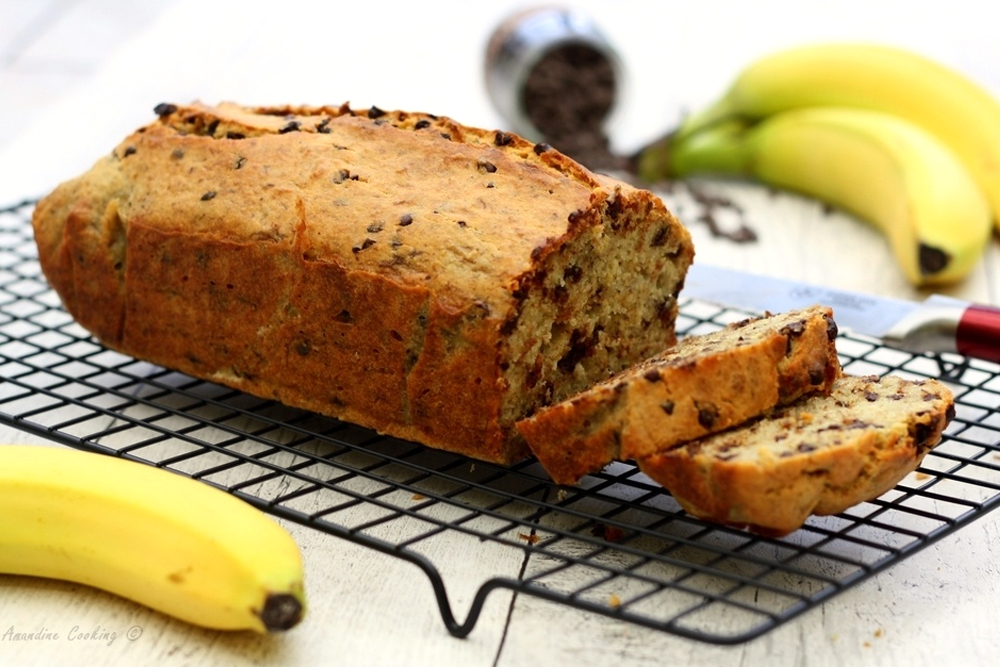 Recette De Banana Bread Aux Pépites De Chocolat - So Healthy concernant Jeux De Singe Et Banane