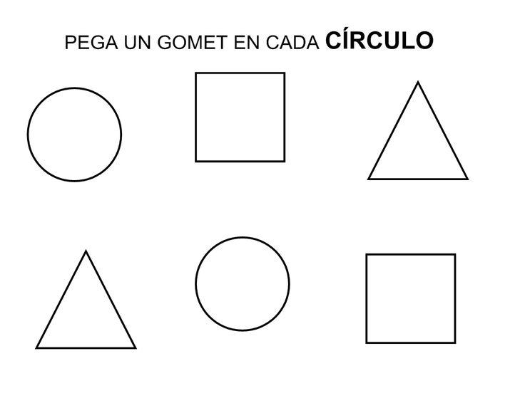 Recursos Educación Infantil: Círculo | Formes Géométriques tout Regle Forme Geometrique