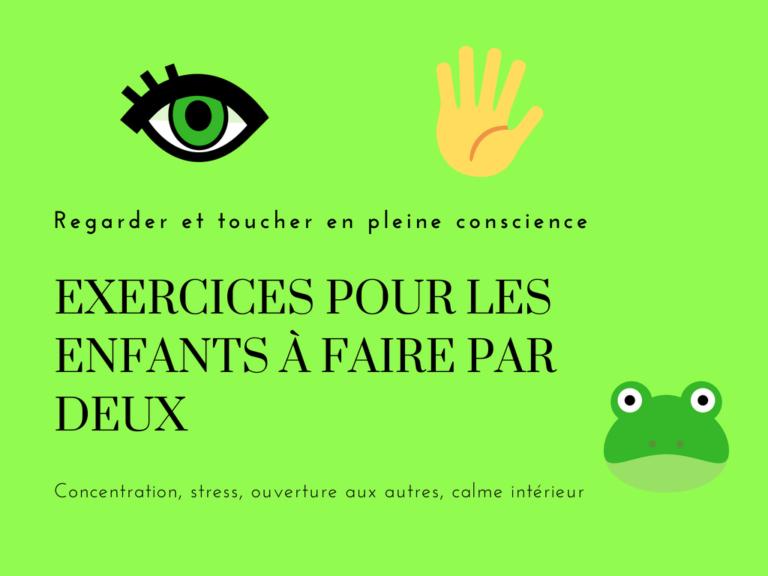 Regarder Et Toucher En Pleine Conscience : Exercices Pour encequiconcerne On Peut Le Voir Mais Pas Le Toucher